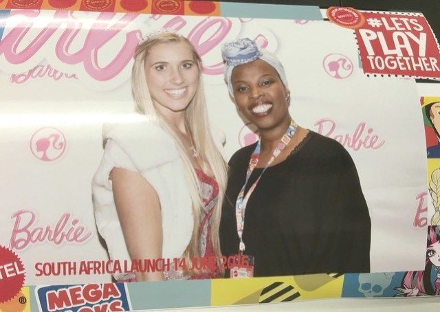 Portia and Barbie, Mattel in South Africa