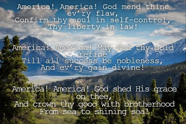 America, America! lyrics
