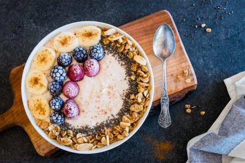 banana pudding breakfast bowl