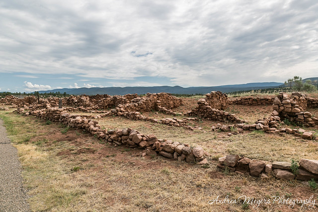 Ruins of Ciquique Pueblo - Andrea Meyers