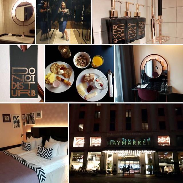Staying at the amazing @haymarketbyscandic in lovely Stockholm