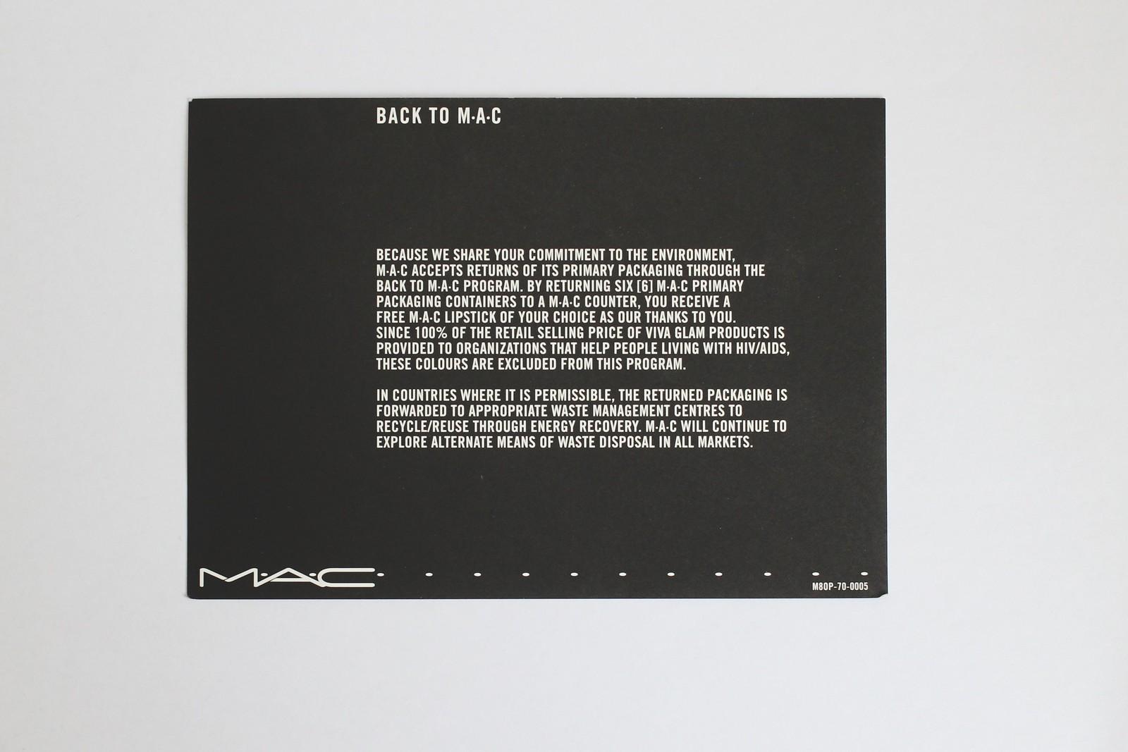 Back To MAC