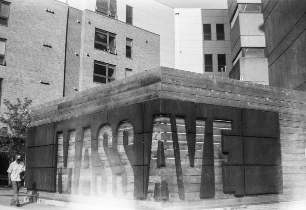Mass Ave and a light leak
