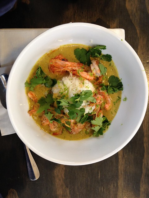 Coconut Curry Gulf Shrimp from St Roch Market, New Orleans