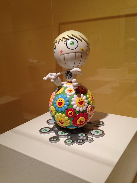 Takashi Murakami, Untitled, 2000 at Hunter Museum of Art, Chattanooga TN