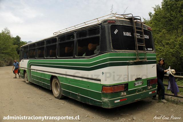 Buses Radal Siete Tazas | Salto La Leona | Inrecar - Mercedes Benz / KJ6354