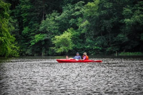 Kayaking and SUP on Saluda Lake-25