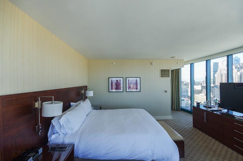 bedroom - intercontinental san francisco
