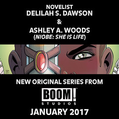 29258480594_1b94bc9280_m Delilah S. Dawson and Ashley A. Woods unite on upcoming project