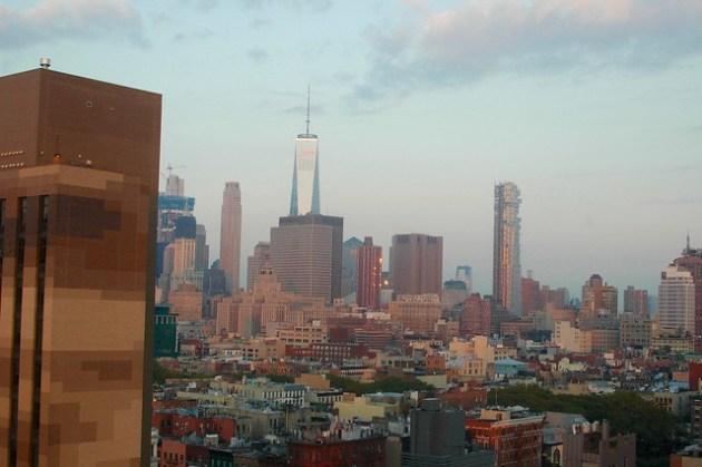 Manhattan at sunrise