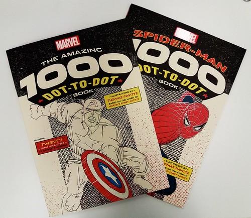 29822840386_2291826161 Ilex Press announces MARVEL: THE AMAZING 1000 DOT-TO-DOT BOOK