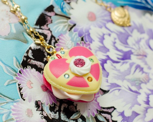 Cosmic Heart Macaron Necklace