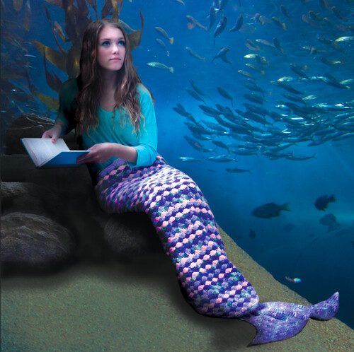 Free Mermaid Tail Crochet Pattern