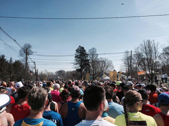 Salida Boston Marathon 2016