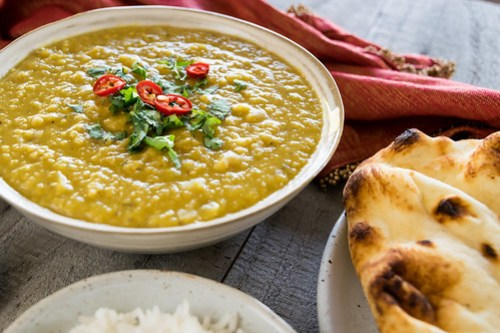 a comforting bowl of daal
