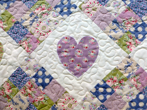 Hearts and Patches Tilda Quilt (Pretty Patches Nov16)