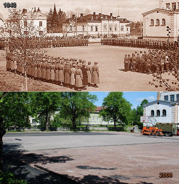 1943 школа лотта шюцкор - 2008 школа военные машины