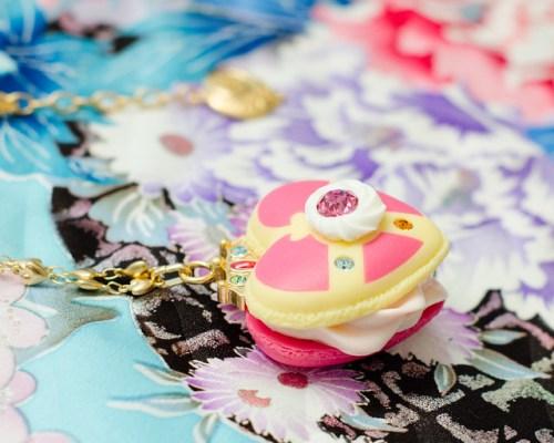 Cosmic Heart Macaron Necklace