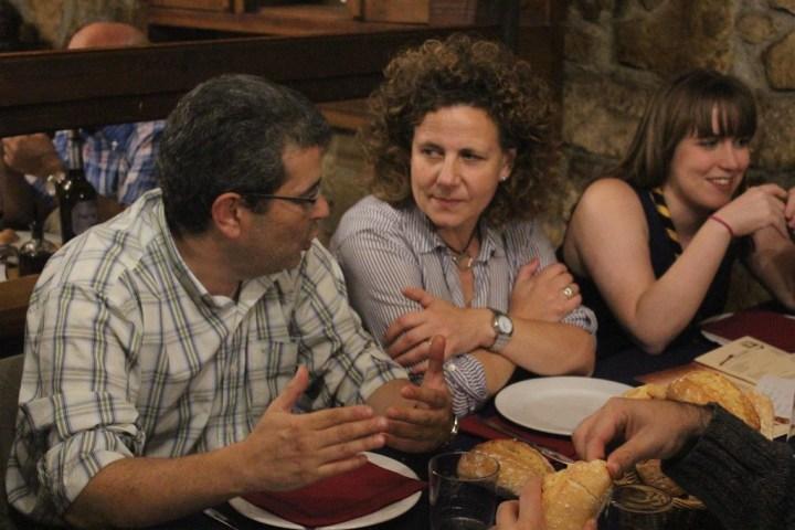 Pablo, Montse y Nerea.