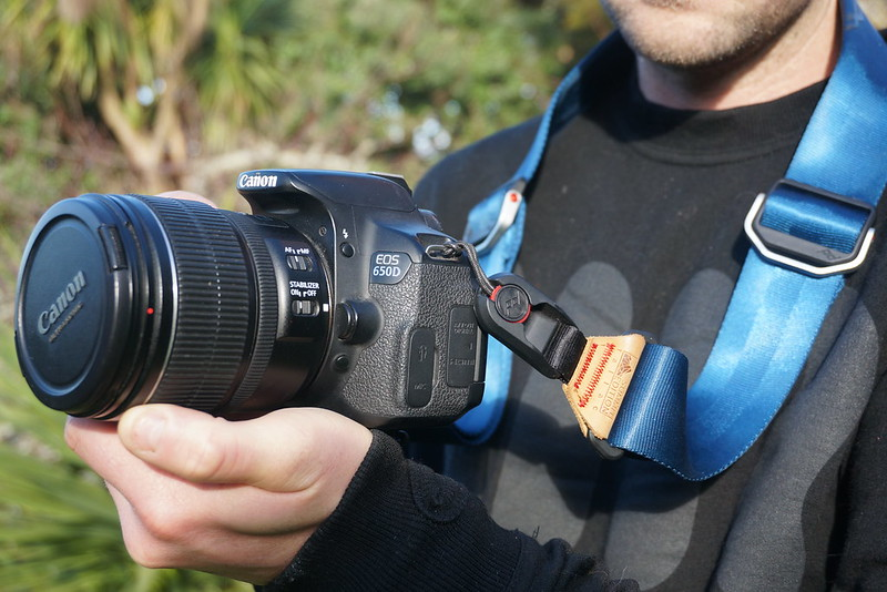 Peak Design camera gear is the solution for those who don't want to use the rubbery sweaty branded camera straps!