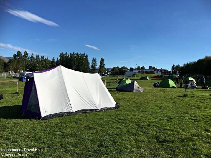 Akureyri campsite
