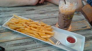 Tea and Cheese Fries
