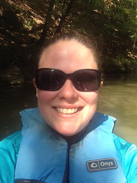 Me, Kayaking