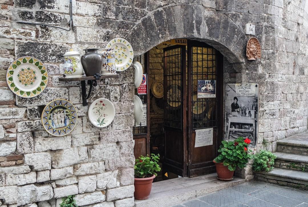 Ceramica di Gubbio
