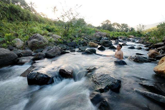 Stream at Kelimutu Crater Lakes Ecolodge