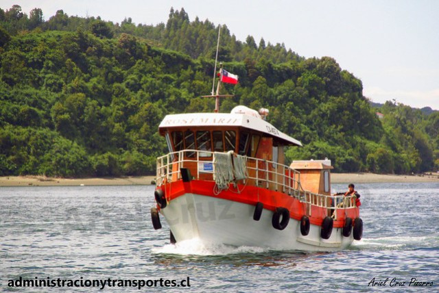 Embarcación Rosemarie (Quemchi, Chiloé)