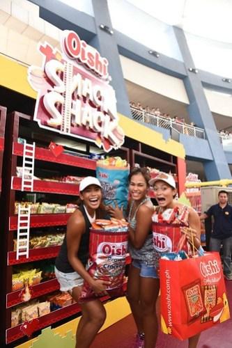 Charo Soriano, Angeline Gervacio and Bea Tan, Beach Volleyball Republic