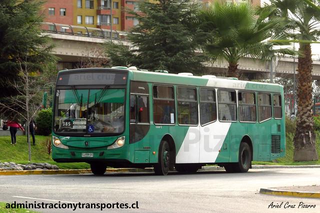 Transantiago 385 | Buses Vule | Caio Mondego H - Mercedes Benz / CJRW30