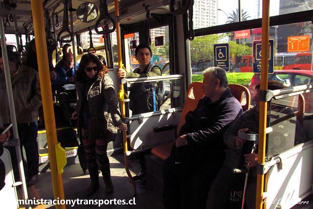 Transantiago   Buses Vule - I09   Caio Mondego H 13.2 - Mercedes Benz / FLXK15 (Biportal / 4 Puertas)