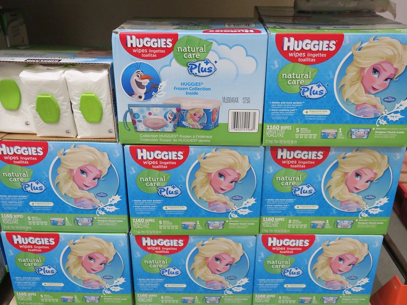 Frozen wipes, Php 1500