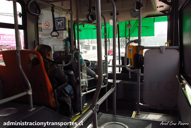 Transantiago | Buses Vule - I09 | Caio Mondego H 13.2 - Mercedes Benz / FLXK15 (Biportal / 4 Puertas)