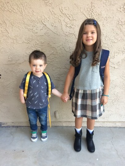 Little Brother, Big First Grader