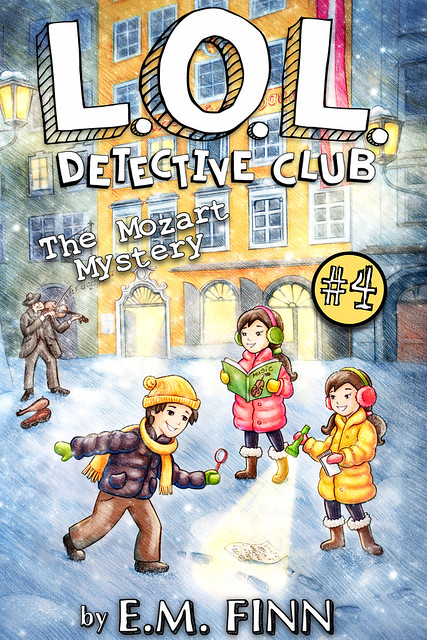 LOL DETECTIVE 4 COVER