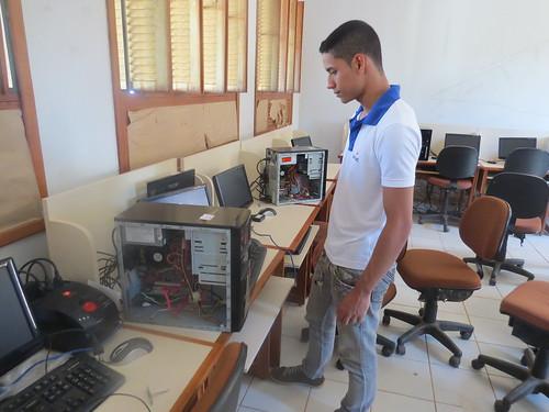 Alunos do Senac desenvolvem projeto em parceria com escola pública de Rio Branco