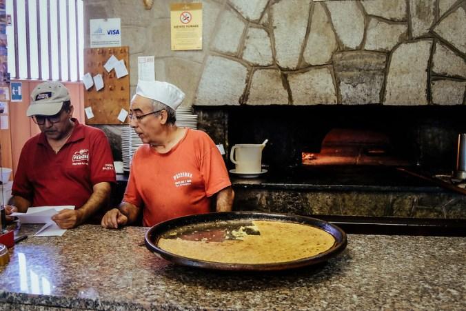 Lekker eten in Turijn: farinata bij Alla Baita dei 7 Nani