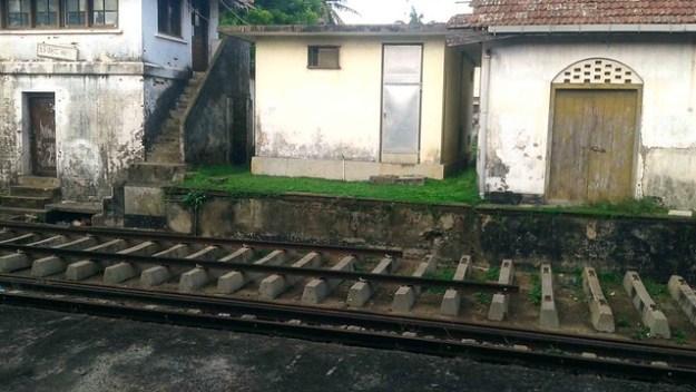 Train Through Galle