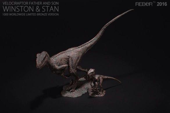 11 Raptor Rebor 2016 'Winston' e 'Stan'