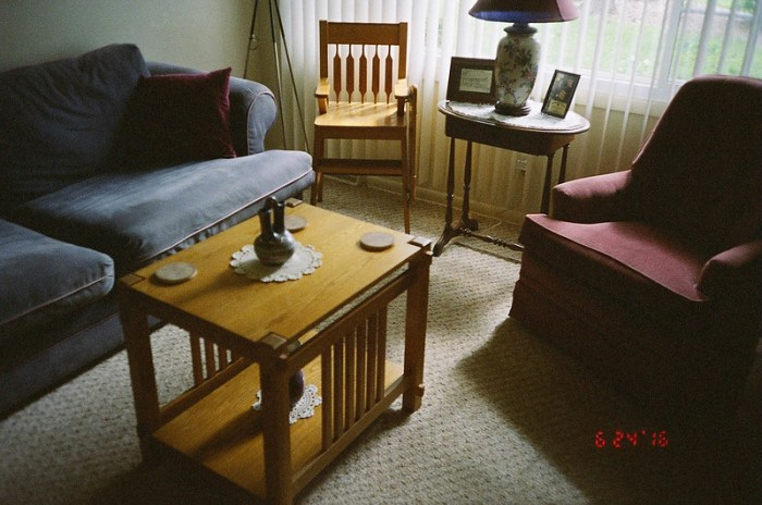 My living room, dated