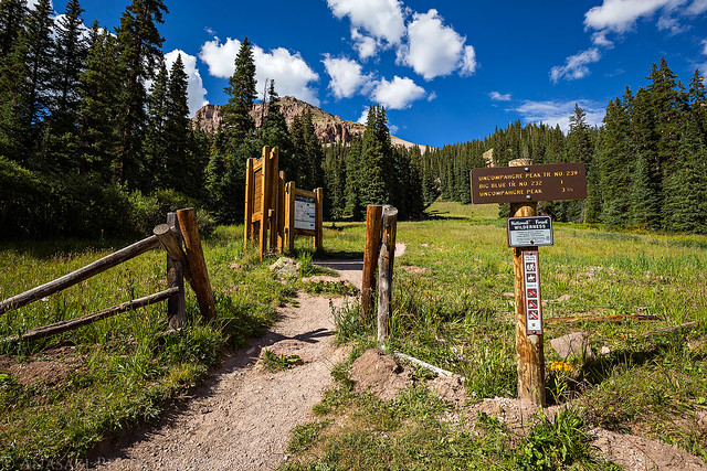 Uncompahgre Trailhead