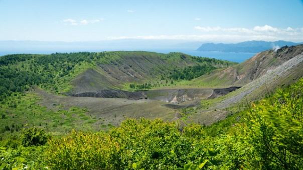 Mount Usu Crater