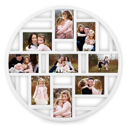 Photo Gallery 9 Circle Collage Frame Collage Picture
