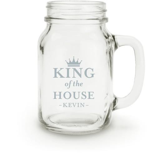 Crown King Mason Jar | Home Decor | Shutterfly
