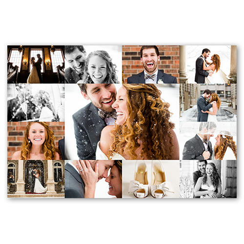 photo gallery grid collage poster print shutterfly