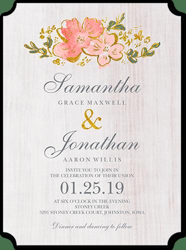Rustic Wedding Invitations Shutterfly