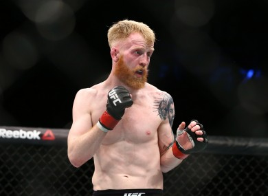 Paddy Holohan booked for return to UFC action for the ...