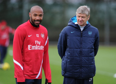 Henry ready to step in at Arsenal but wants former boss ...